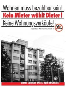 WiM Plakat zur OB-Wahl 2010 in Freiburg
