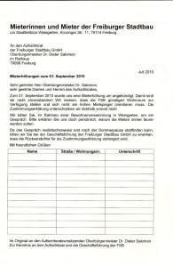 Brief an den OB Sommer 2010 - Mieterhöhungen Weingarten